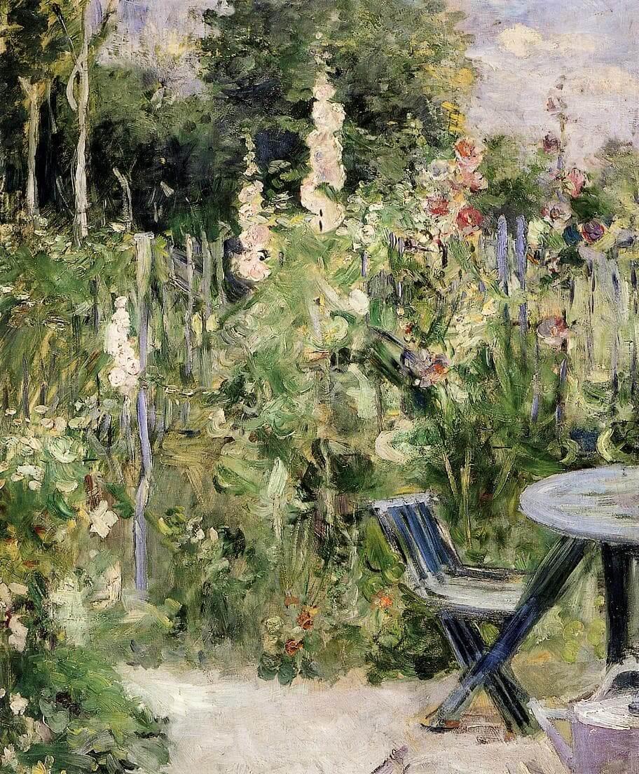 """Ruže Tremieres"" od Berthe Morisot"